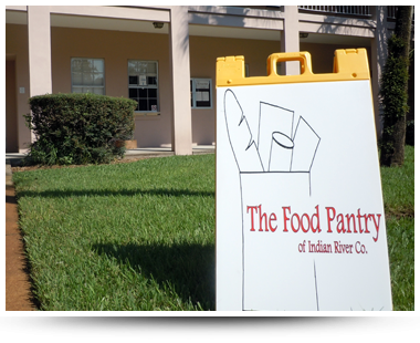 The Food Pantry of Indian River Co. A-frame