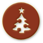 Christmas tree icon for Holidays